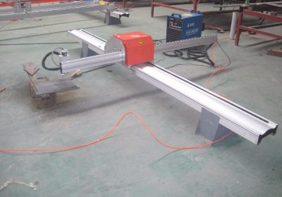 Portebla CNC-Pipe Profilo Intersektanta kortegan maŝinon malkara fabriko fabrikisto de pipo