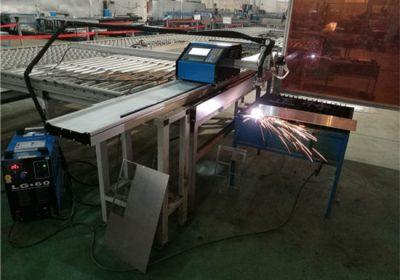 Ĉinio fabrikanto Komputila Kontrolita CNC Plasma #Tran? Ilo uzo por tranĉita aluminio Neoksidebla #? Talo / Fero / Metalo